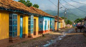 città cubane colorate